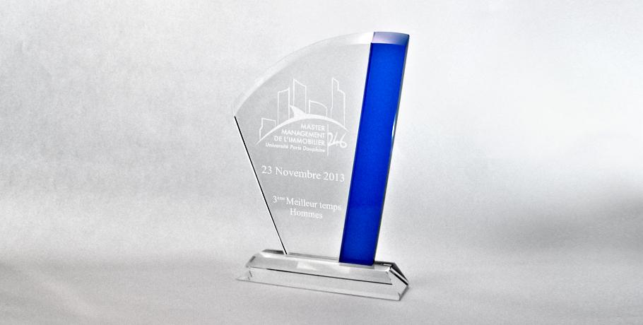 trophées pampero-verre-bleu-marquage-laser