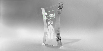 trophée cintré-verre-marquage-laser