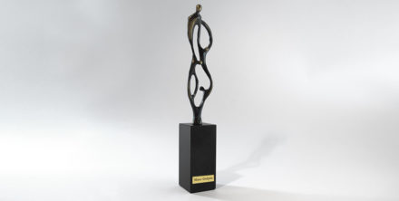 trophée-métal-artisan-création française-étiquette-impression numérique