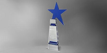 Trophée-morget-verre-inserts-bleu-marquage-laser-étoile-slider