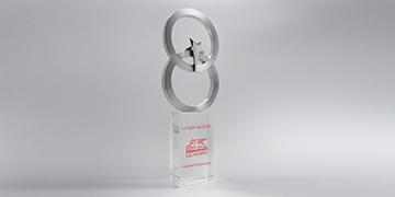 Trophée-verre-métallique-GalèneAlliance-marquage-couleur